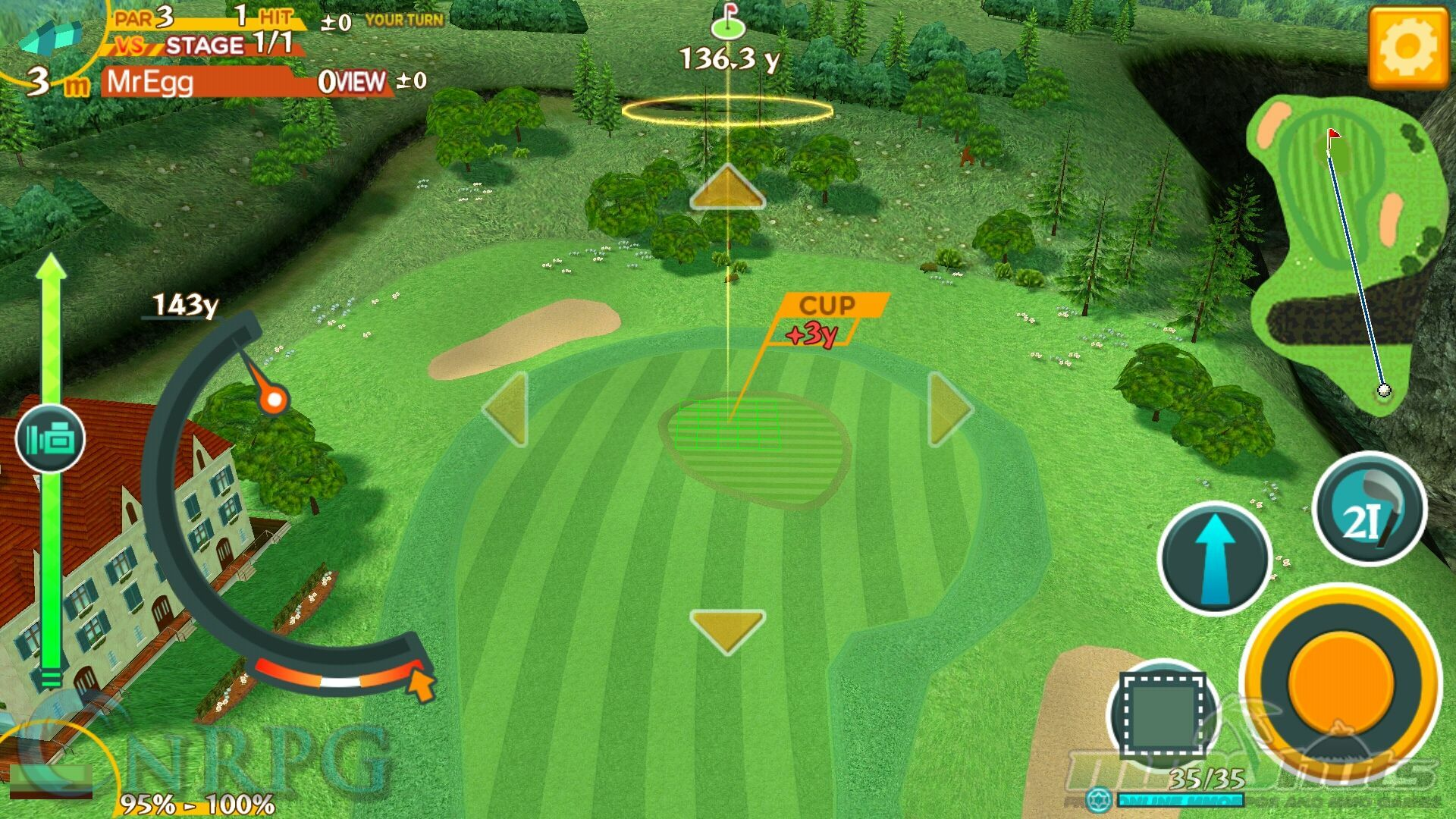 Eagle: Fatasy Golf Mobile Game Review