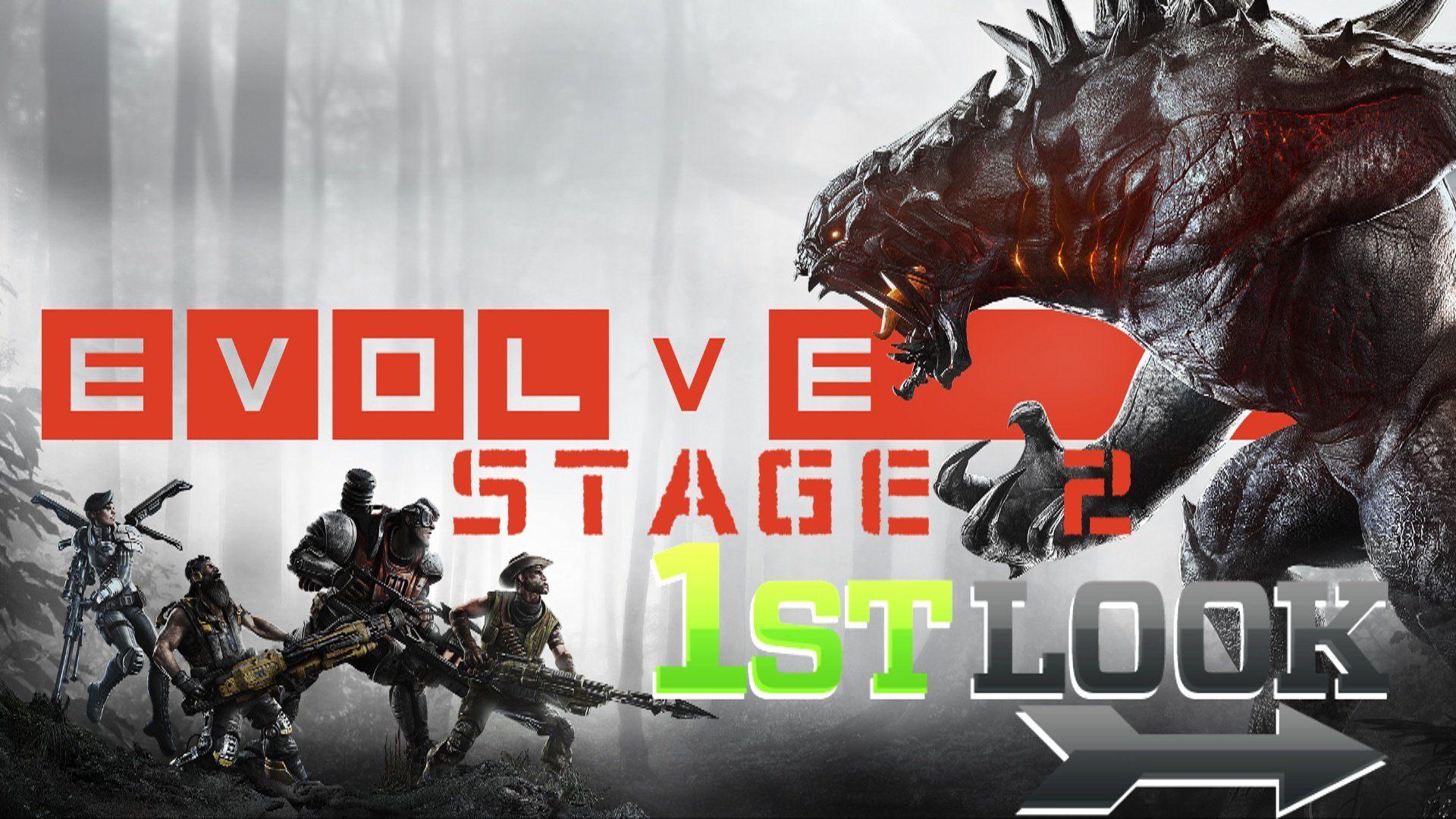 Evolve Stage 2 (Now Free 2 Play) - First Look