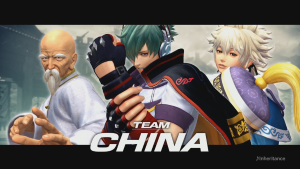 The King of Fighters XIV Team China Reveal