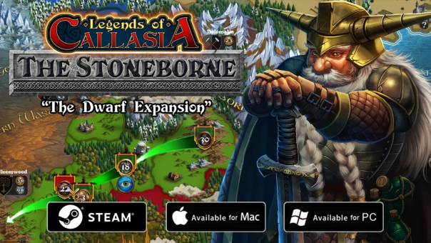 Legends of Callasia: The Stoneborne DLC Kickstarter Funded