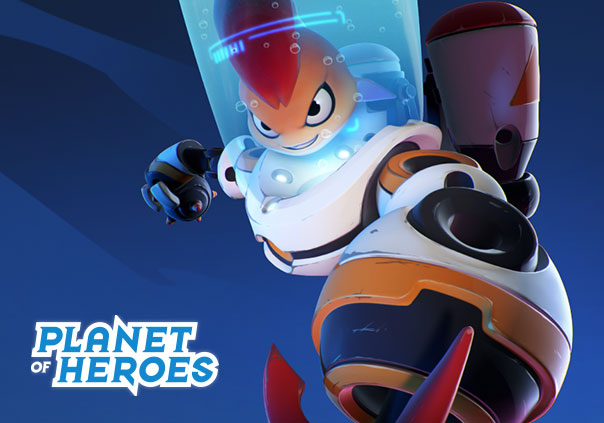 Planet of Heroes Game Banner