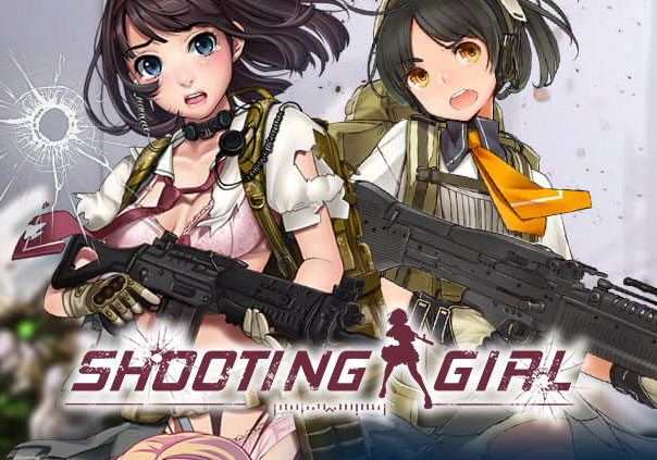 Shooting Girl Game Banner