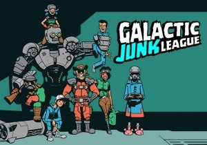 Galactic Junk League Game Profile Banner