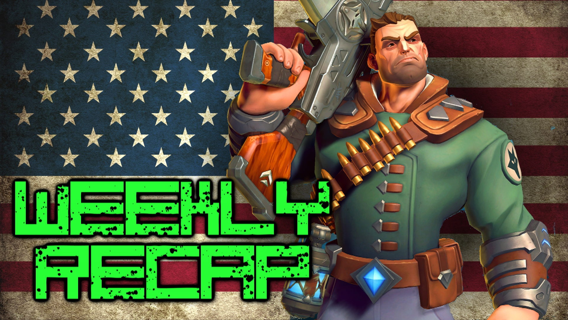 MMOHuts Weekly Recap #297 July 4th - Overwatch, Paladins, Black Desert & More!