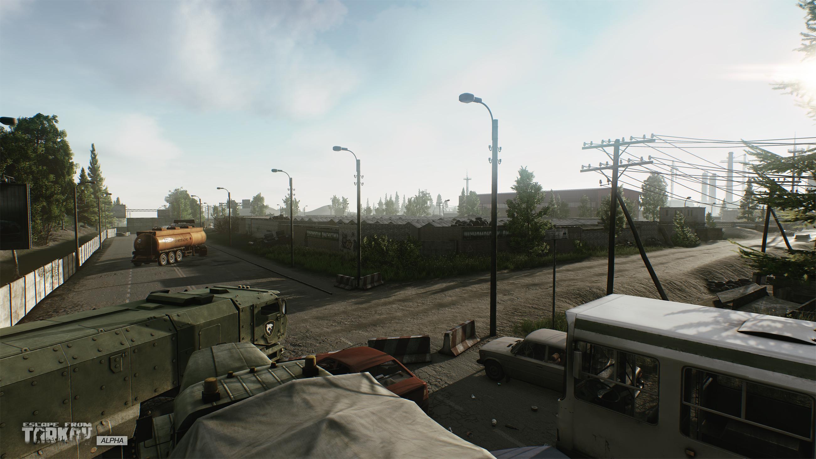 Escape from Tarkov Garage Park