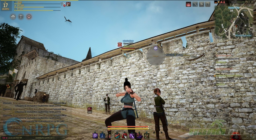 Black Desert Online Impressions - Kuniochi, Ninja, and Siege Warfare