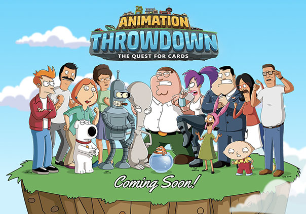 Animation Throwdown Game Profile Banner