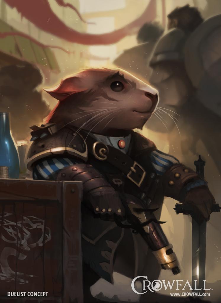 Crowfall Pre-Gamescom 2016 Interview
