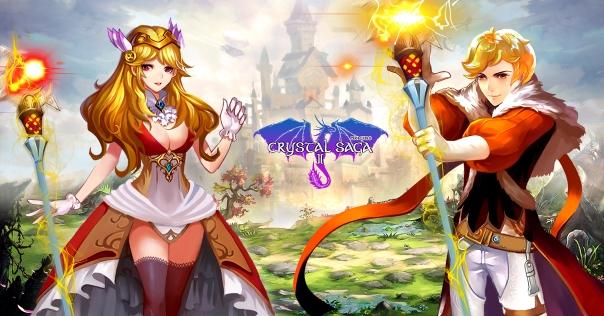 Crystal Saga II Open Alpha Begins