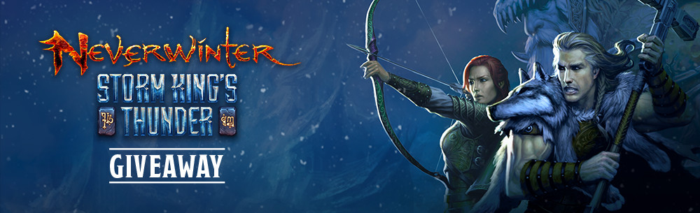 Neverwinter Storm Kings Thunder MMOHuts Giveaway
