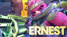 Battleborn Ernest Skills Overview