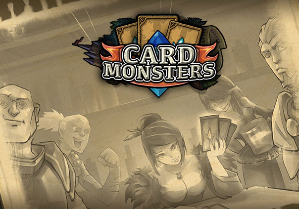 Card Monsters Game Profile Banner