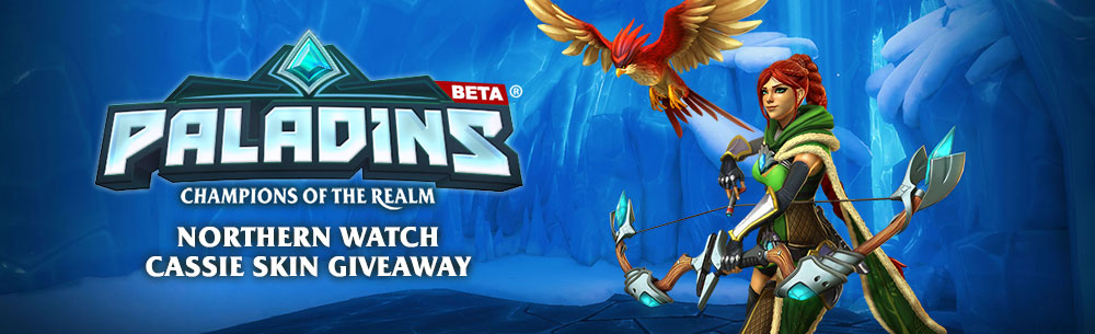 Paladins Northern Watch Cassie Skin Giveaway