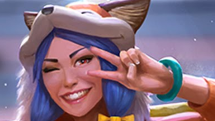 SMITE Foxy Amaterasu Skin Preview