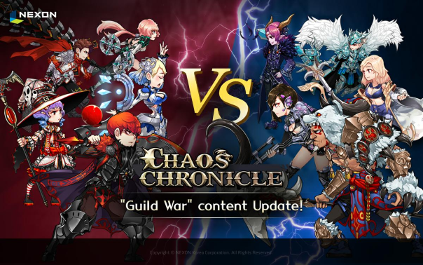Chaos Chronicle Guild War Update
