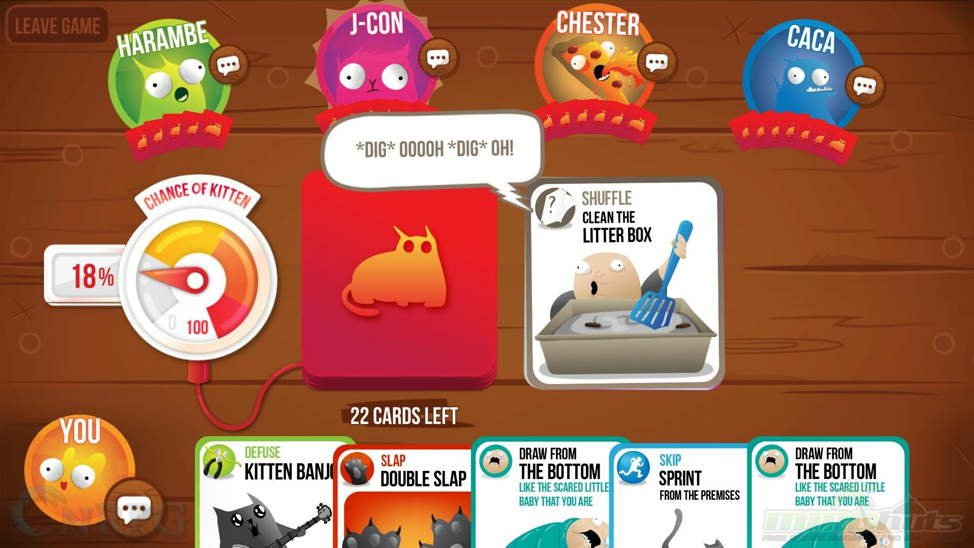 Exploding Kittens Mobile Review