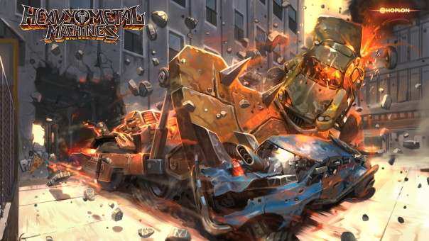 Heavy Metal Machines Beta Keys Available Through Alienware