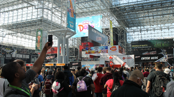 NYCC 2016 Day 1 Recap - Square-Enix Event