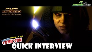 SWTOR: Knights of the Eternal Throne - NYCC 2016 Quick Interview