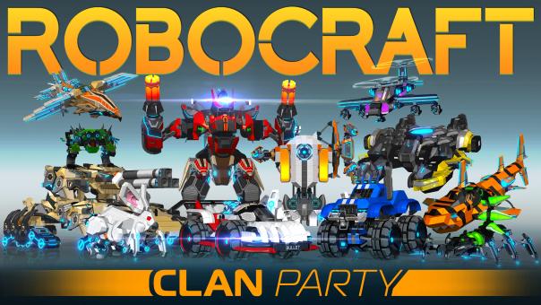 Robocraft Clan Party Update Live