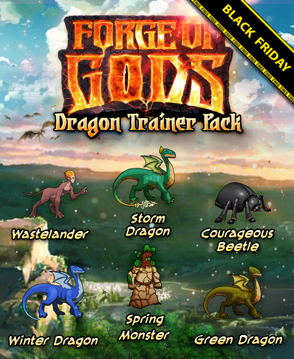 Forge of Gods Dragon Trainer Pack Giveaway