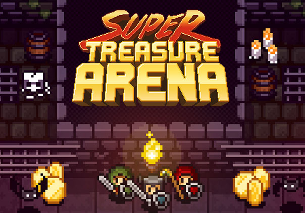 Super Treasure Arena Game Profile Banner
