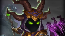SMITE Heebee Chibi Hades Skin Preview