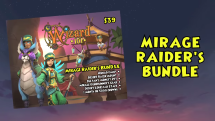 Wizard101 Mirage Raider's Bundle
