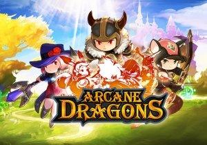 Arcane Dragons Game Profile Banner