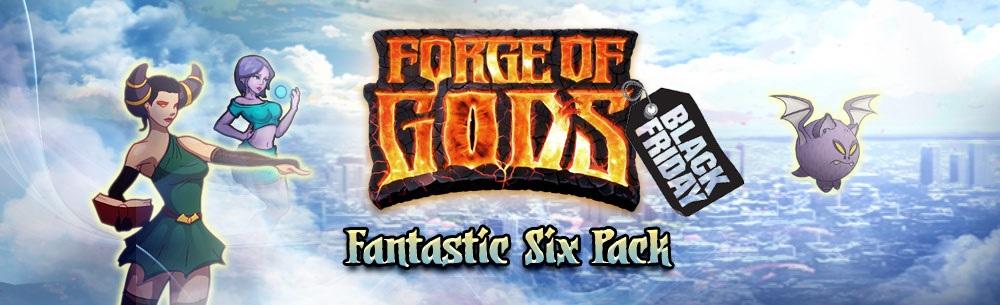 Forge of Gods Fantastic Six Pack Giveaway