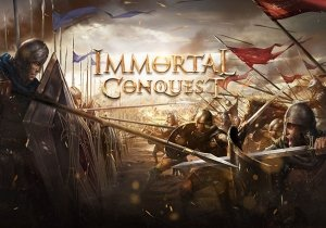Immortal Conquest Game Profile Banner