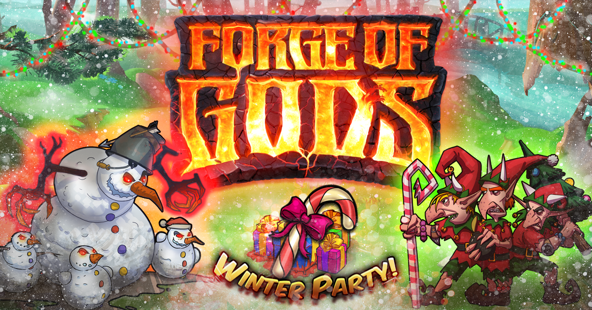 Forge of Gods Winter Party Update Available
