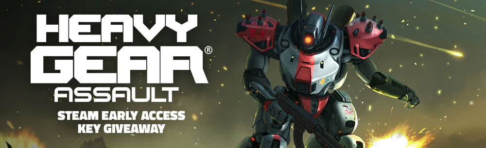 Heavy Gear Assault EA Giveaway MMOHuts Banner