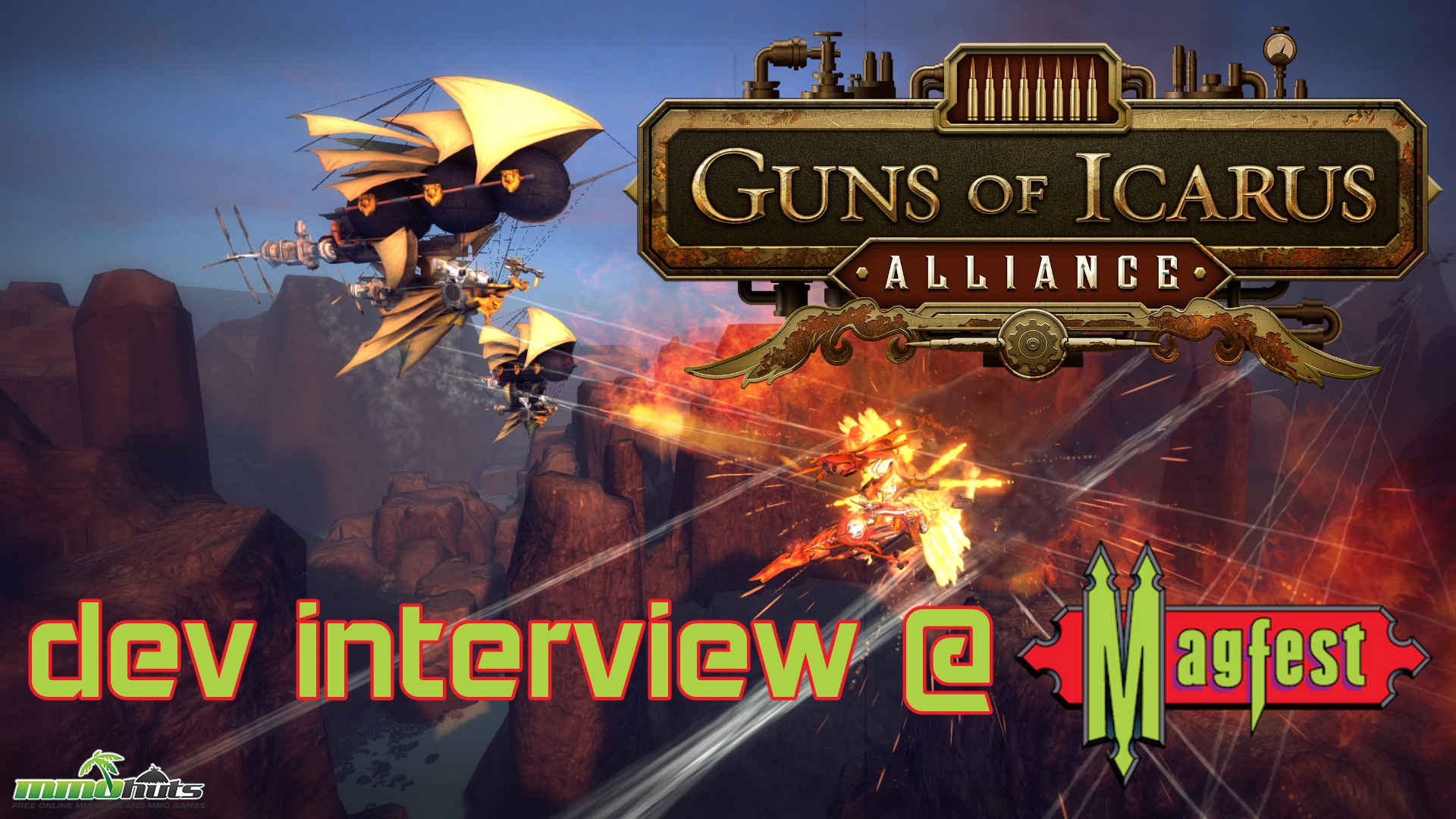 Guns of Icarus Alliance @ MAGFest 2017 Interview