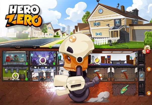 Hero Zero News - Hero Hideout Feature Introduced