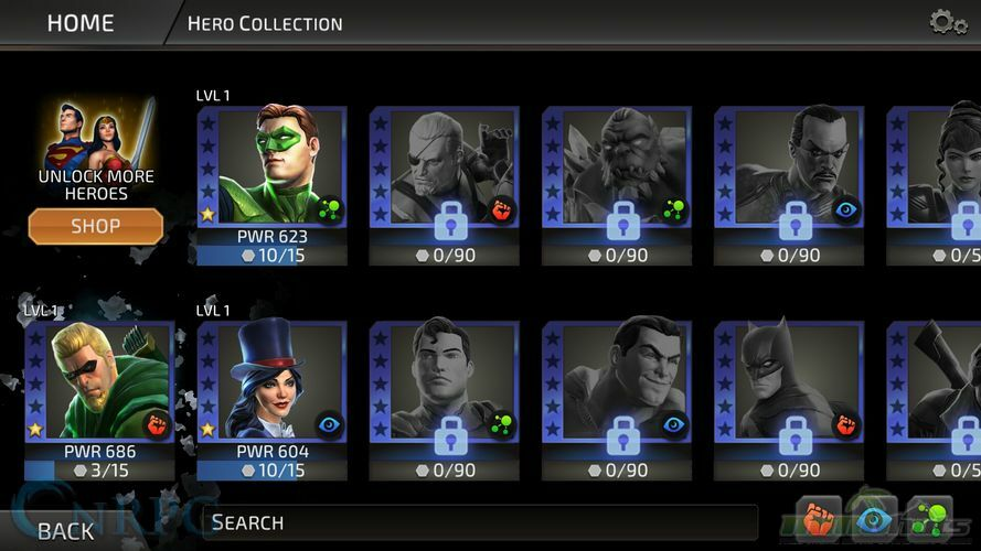 DC Legends Mobile Review