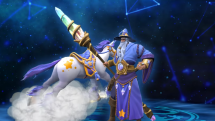 SMITE Guan Unicorn Skin Preview