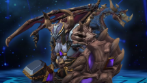 SMITE Dread-Lord Fafnir Skin Preview