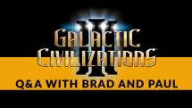 Galactic Civilizations III: Crusade QA Highlights