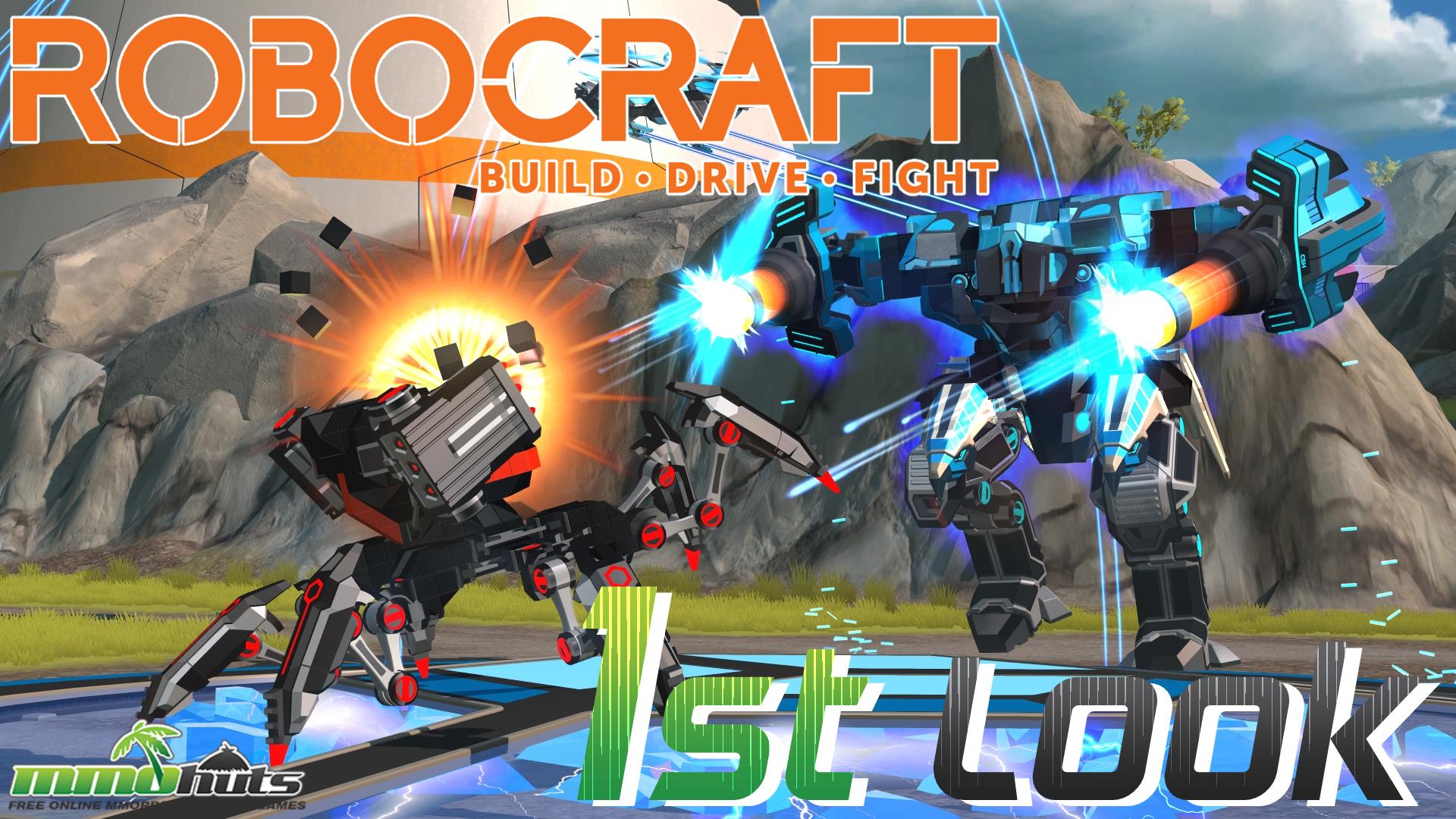 Robocraft Updated First Look