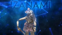 SMITE Dreadful Doll Izanami Skin Preview