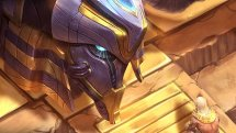 SMITE Star Eater Khepri Skin Preview