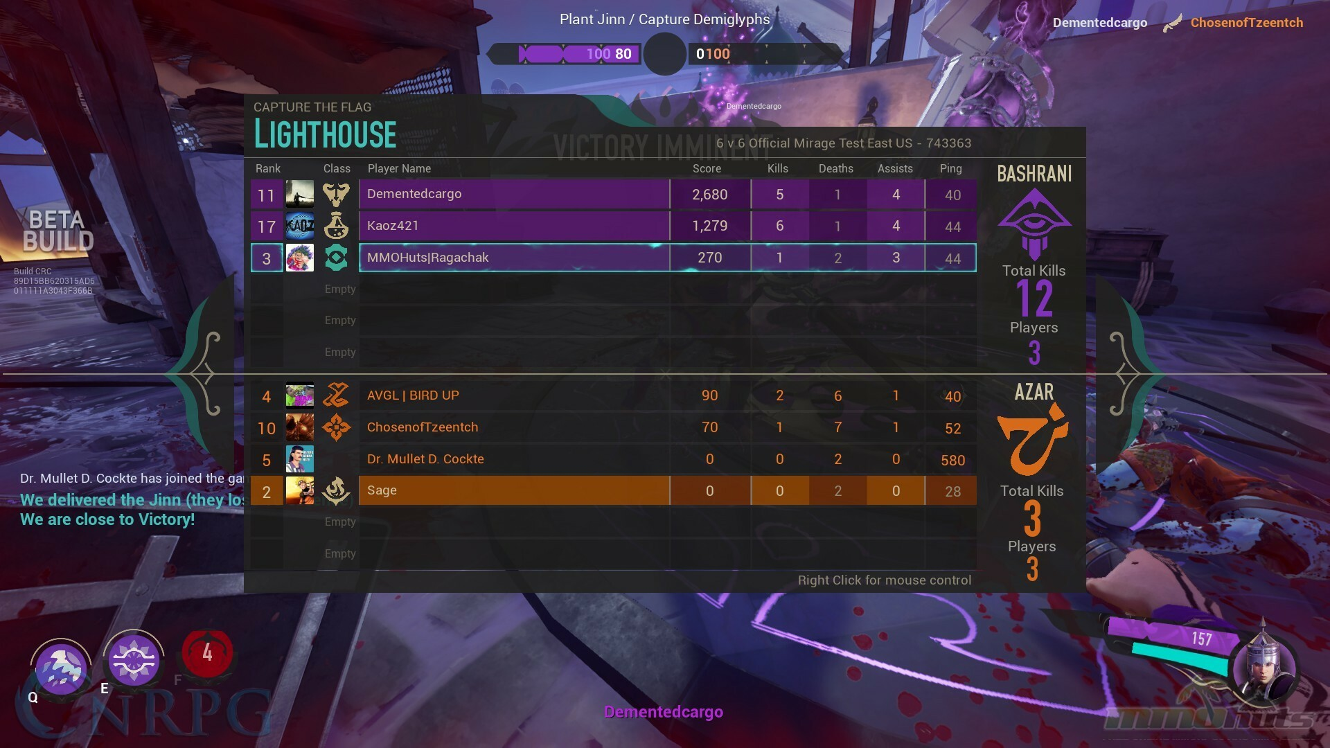 Mirage: Arcane Warfare Beta Impressions