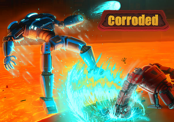 Corroded Game Profile Banner