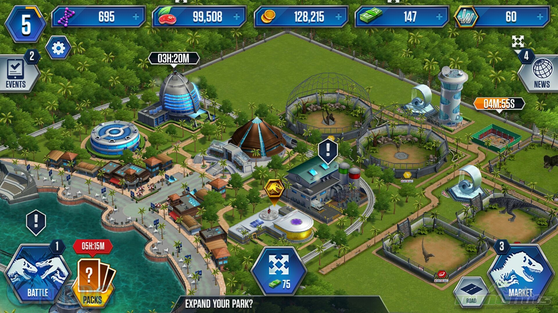 Jurassic World The Mobile Game Review