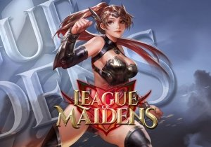 League of Maidens Game Profile Banner
