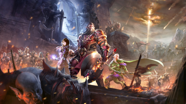 NetEase Games Debuts Crusaders of Light