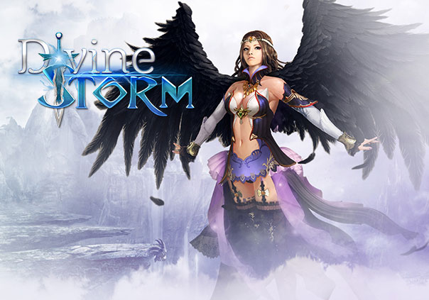 Divine Storm Game Profile Banner