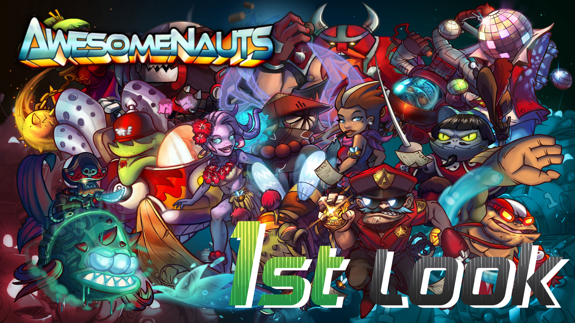 Awesomenauts - First Look