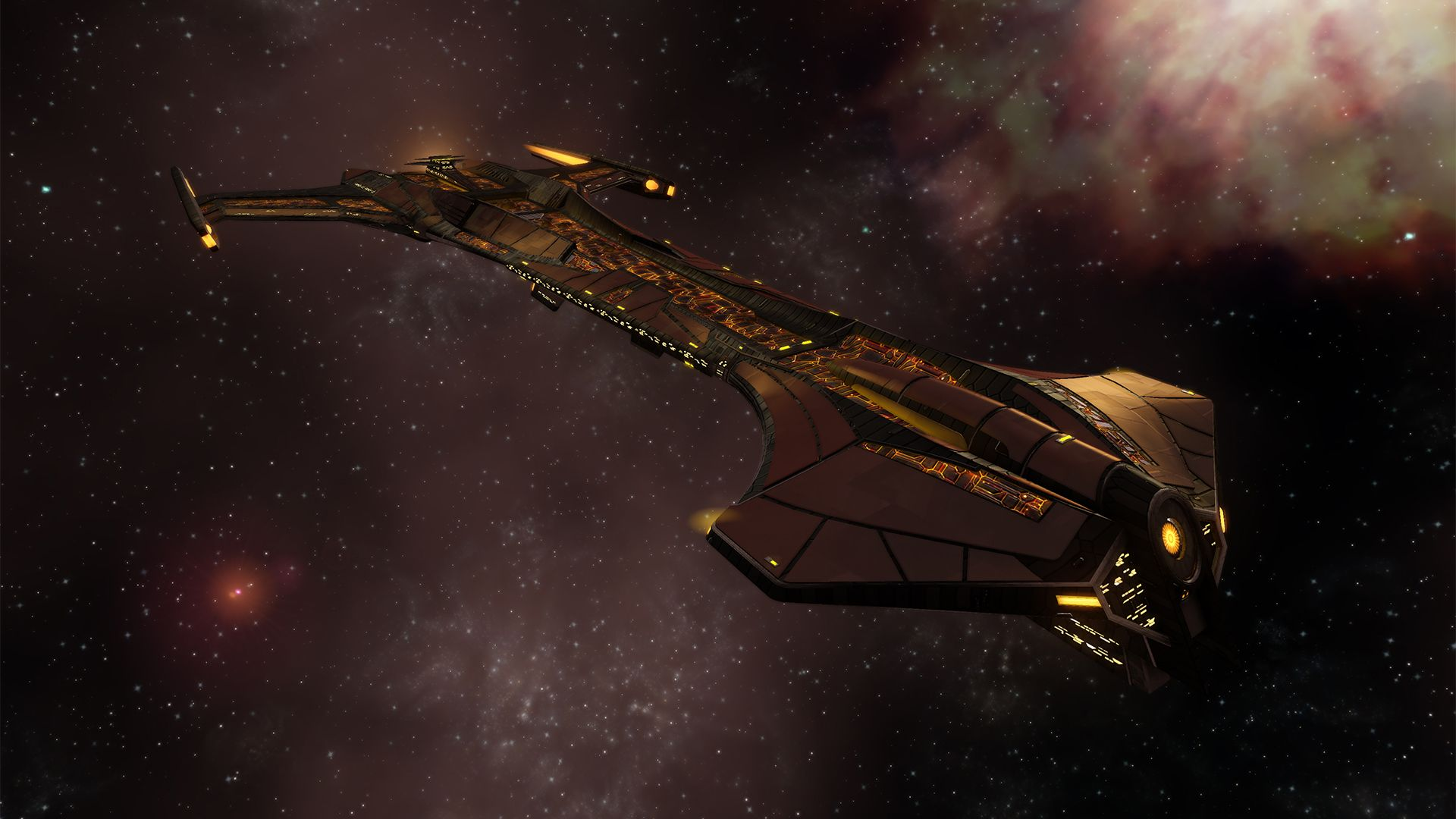 Klingon 26th Century Dreadnought